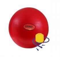 Bola de Ginástica  45cm c/ Bomba para Inflar Supermedy - Supermedy