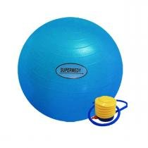 Bola De Ginastica 65cm c/ Bomba para Inflar Supermedy -