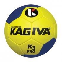 dcf6f6e6fe Bola de Handebol K3 Pró Costurada Adulto - Kagiva