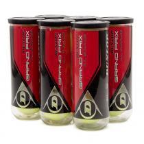 Bola de Tênis Dunlop Grand Prix All Surface Pack com 6 Tubos - Dunlop