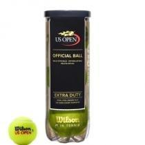 Bola De Tênis Wilson US Open Extra Duty Tubo Com 3 Bolas - Wilson