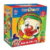 Bola Infantil em EVA Patati Patatá Vermelha 53 - Lider - Lider Brinquedos