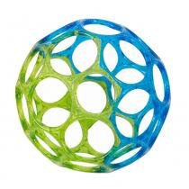 Bola Mini Oball Jellies 0M+ Azul/Verde - Bright Starts - Bright Starts
