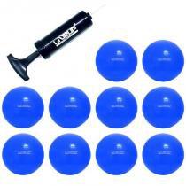 Bola Suíça 65 CM para Pilates 10 Unidades com Bomba LIVEUP - LIVEUP