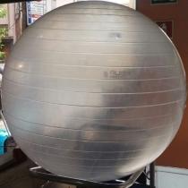 Bola Suíça para Pilates 65 CM LIVEUP LS3221 T65 Transparente -