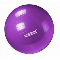 Bola Suíça Para Pilates antiestouro 55Cm - Premium - Roxa - Liveup - Liveup