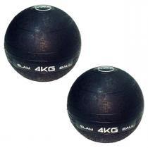 Bolas Medicine Slam Ball para CrossFit 4 KG - LIVEUP -