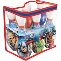 Boliche The Avengers Pinos 29Cm Lider - Lider