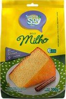 Bolo de Milho - Suprasoy - Mistura para bolo - 300g - Suprasoy
