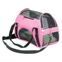 Bolsa Atenas São Pet de Transporte para Cães e Gatos - Rosa - 02 -