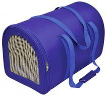Bolsa Bagl Redonda em Nylon Lisa São Pet - Azul - M -