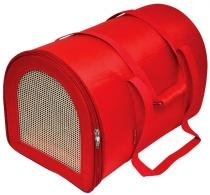 Bolsa Bagl Redonda em Nylon Lisa São Pet - Vermelho - M -