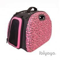 Bolsa de Transporte Ibiyaya EVA Safari Para Cães - Rosa -