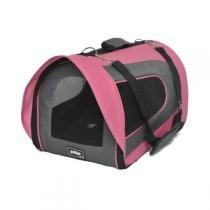 Bolsa de Transporte PetGo para Cabine de Avião Pandora - Rosa -
