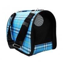 Bolsa mala para cachorro e gato caixa de transporte pet e caes dobravel com ziper casinha de passeio - Gimp
