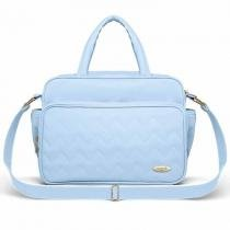 Bolsa Maternidade Classic For Baby Missoni Turim - Azul Bebê - Azul - Classic for Baby Bags