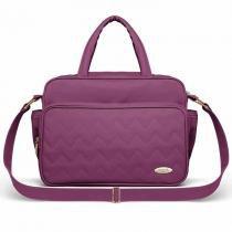 Bolsa Maternidade Classic For Baby Missoni Turim - Uva - Classic for baby bags