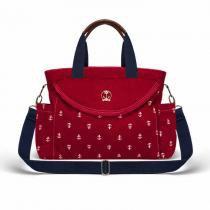 Bolsa Maternidade Classic For Baby Navy Auckland Sarja - Vermelho - Classic for baby bags