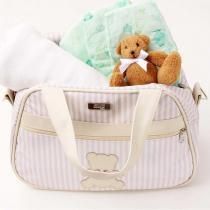 Bolsa Maternidade Hug Bear - M Bege - Hug