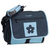 Bolsa Maternidade Simply Good Daisy Diaper - Navy Light Blue - Simply Good