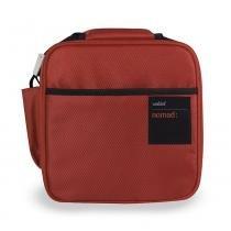 Bolsa para alimento em nylon vermelha 27cm x 23cm nomad soft Valira -