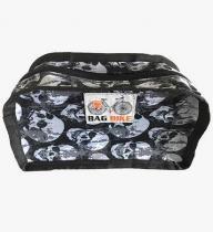 Bolsa para Guidão Petit Bag Bike Skull Gray - Bag Bike
