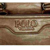 Bolsa Pasta Polo Executivo Videng em Couro -