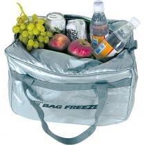 Bolsa semi térmica bag freezer cotérmico - prata / 30 lt -
