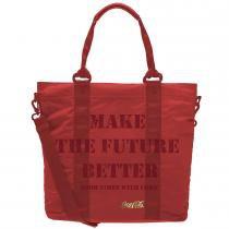 Bolsa Totebag Coca Cola Positive Day Vermelho 811045D PCF Global -