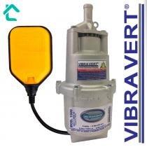 Bomba Submersa De Poço Sapo + Boia De Nível Rymer 1500 125V - Vibra Vert