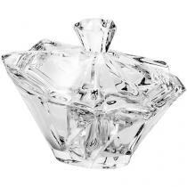 Bomboniere de Cristal com Tampa Bohemia - Angle