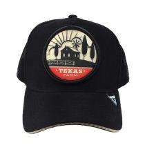 Boné Country Trucker de Telinha Infantil Texas Farm Fazenda - 29deab5f286
