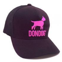 Boné Dondog Preto e Rosa - DonDog