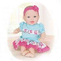 Boneca - 44cm - Life Baby - Bebê Doutora - Cotiplás - Cotiplas