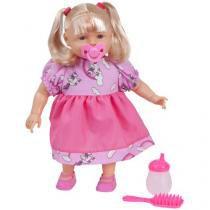 Boneca Aninha Vamos Brincar com Acessórios - Divertoys