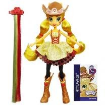 Boneca AppleJack Rainbow Rocks - Hasbro