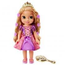 Boneca Articulada - 30 Cm - Disney - Princesas - Rapunzel - Cabelo Brilhante - Sunny - Sunny
