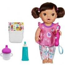 Boneca Baby Alive Bons Sonhos Morena c/Acessórios - Hasbro
