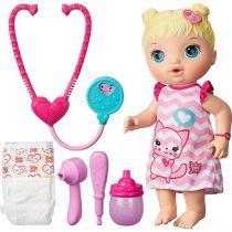 Boneca Baby Alive Cuida de Mim Loira B5158 Hasbro -