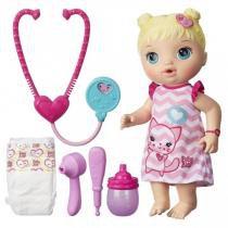 Boneca Baby Alive Cuida De Mim Loira R.C2691 Hasbro -