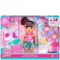 Boneca Baby Alive Festa das Borboletas Morena - Hasbro - Hasbro