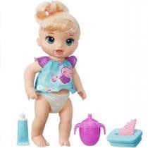Boneca Baby Alive Fraldinha Mágica Loira Fala Frases Hasbro - Hasbro