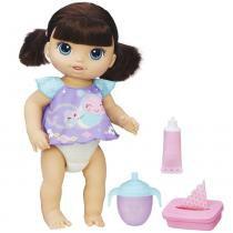 Boneca Baby Alive - Fraldinha Mágica Morena - Hasbro - Hasbro