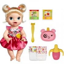 Boneca Baby Alive Hora de Comer Loira A7022 - Hasbro - Hasbro