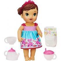 Boneca Baby Alive Hora do Chá Hasbro - Morena