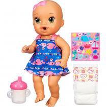 Boneca Baby Alive Hora do Xixi Morena - Hasbro - Hasbro