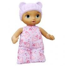 Boneca baby alive hora naninha morena hasbro b7114 11609 -