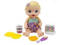 Boneca Baby Alive Lanchinhos Divertidos  - com Acessórios Hasbro