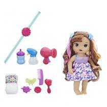 Boneca Baby Alive - Lindos Penteados - Morena - C2446 - Hasbro -