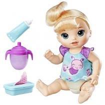 Boneca Baby Alive Loira Fralda Mágica - com Acessórios Hasbro